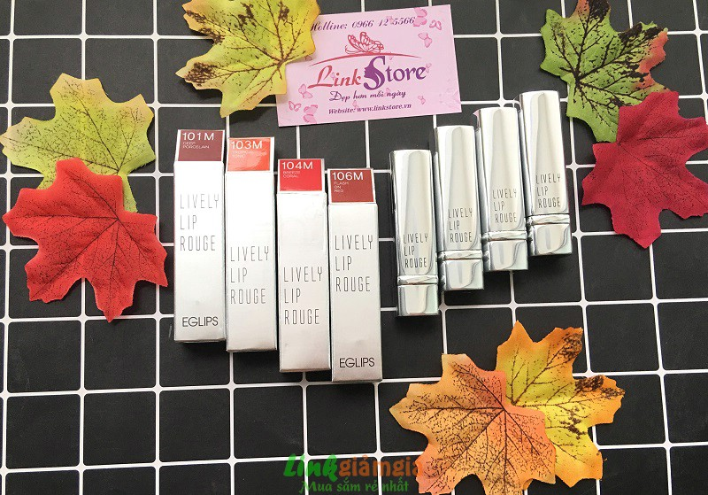 Review son Eglips Lively Lip Rouge