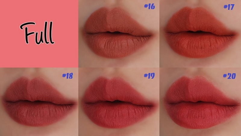 Review son Bbia Last Lipstick Red Series Version 4