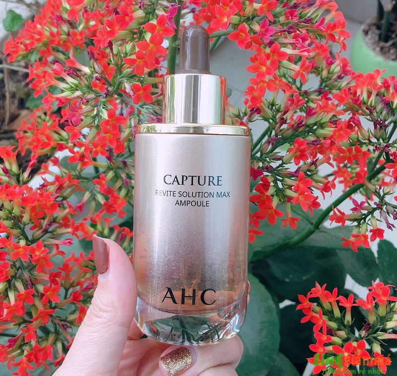 Review Serum chống lão hóa AHC Capture Revite Solution Max Ampoule