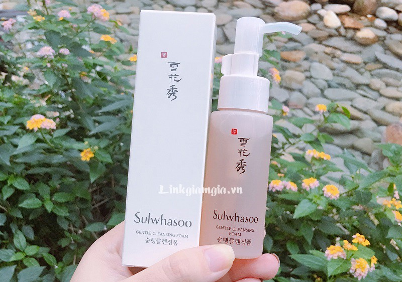 Review sữa rửa mặt Sulwhasoo Gentle Cleansing Foam